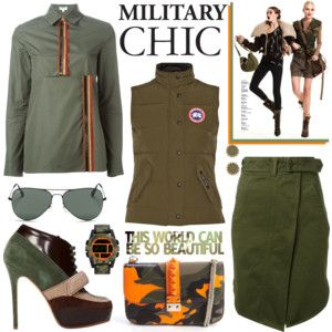Major Military Style