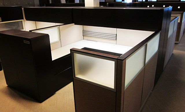 Knoll Reff used cubicles. #usedofficecubicles