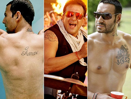 The Hottest Tattoos in Bollywood-Town