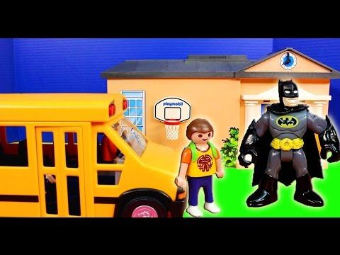 Kita Ausflug zum Aquapark Playmobil Film seratus1 Schwimmbad Stop Motion - YouTube