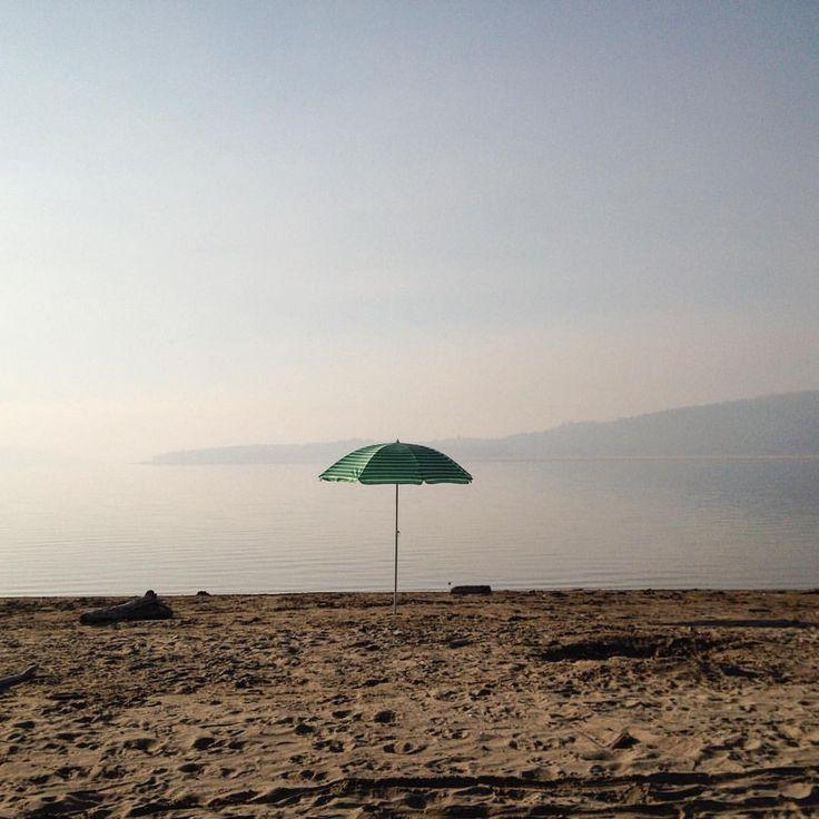 Dorr Road Campground was so quiet and beautiful this week. #camping #fallcamp #umbrella #lakekoocanusa #stillwater #beach #explorebc #vacation