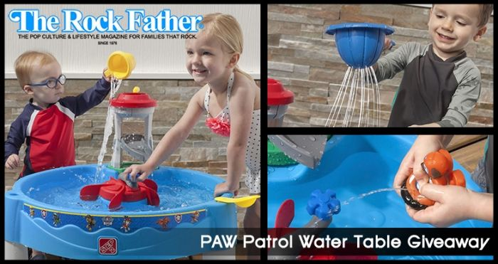 Giveaway: It's Spring in Adventure Bay with the Step2 PAW Patrol Water Table! via @therockfather