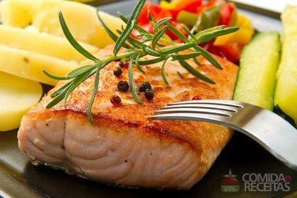 Receita de Salmão grelhado imperial em receitas de peixes, veja essa e outras receitas aqui!