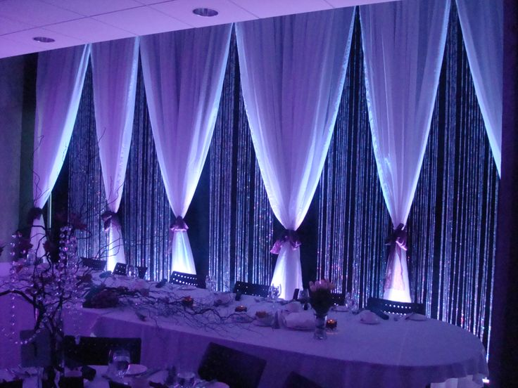 Backdrop for Head Table  its Your Day STAND OUT !