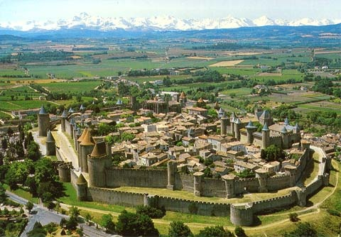 Carcassonne, Southern France
