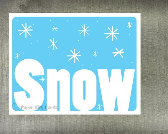 Snowy Blue Christmas Cards by PaperCityCards