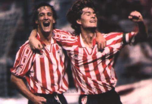 Julen Guerrero & Joseba Etxeberria #Athletic #football