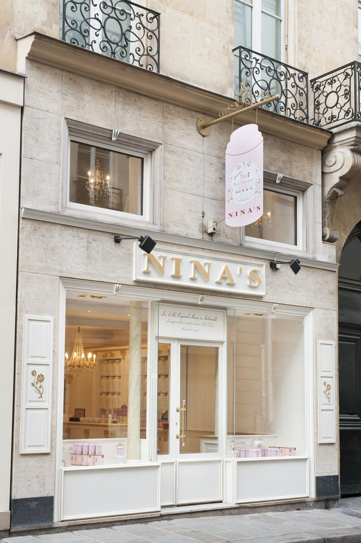 NINA'S Paris ニナス 紅茶の店。
