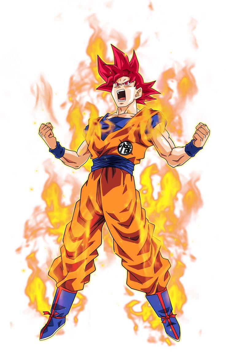 Goku Super Saiyajin dios                                                                                                                                                                                 Más