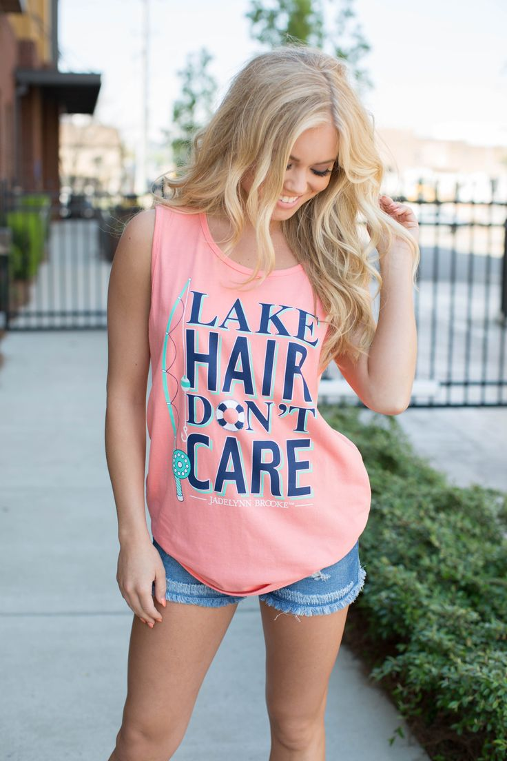 Jadelynn Brooke Lake Hair Tank!