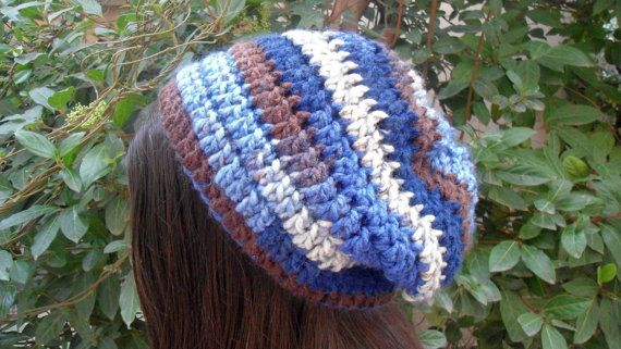 Womens Slouchy Beanie Crochet Slouchy Hat Winter Hat by CRAZYBOOM