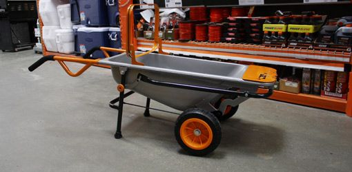 Watch this video to find out about the Worx AeroCart, a multipurpose garden cart that functions as a wheelbarrow, hand dolly, leaf bag holder, and more.