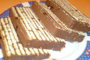 Prajitura cu biscuits and chocolate