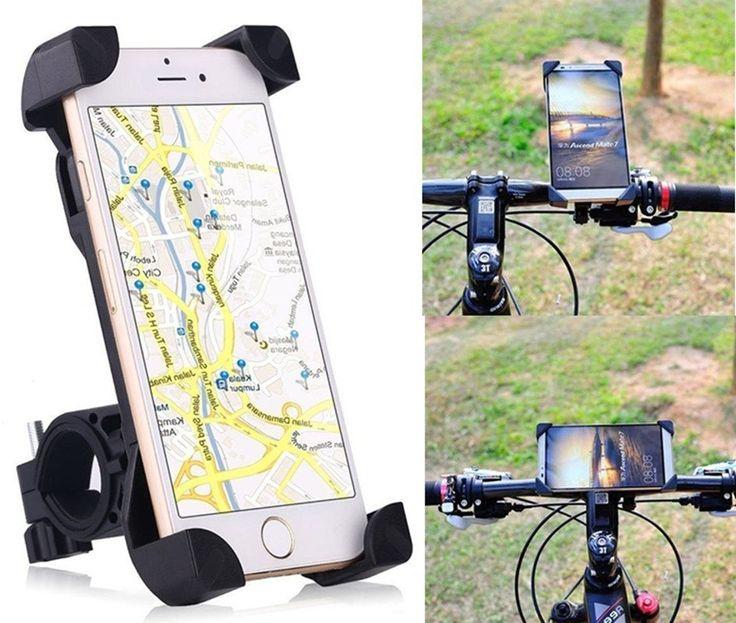 Bike Phone Holder,360 Degree Universal Motorcycle Bike Bicycle Handlebar Mount Holder For Smartphone GPS Devices //Price: $6.55//     #electonics