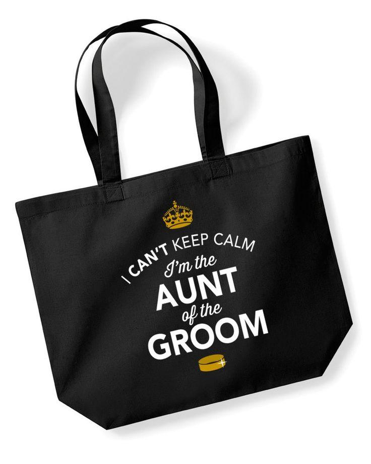 Aunt Of The Groom, Stag Party, Bachelorette Party, Stag Party Bag, Aunt Of The Groom gifts, Stag Do Gifts, Ideas For Groom, Groom present, Shopping Bag, Aunt Of The Groom Bag, Tote Bag, Stag Party Gift Bag, Groom keepsake, Team Groom