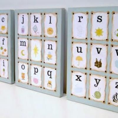 So upset - I saw this set of alphabet cards at Walmart a week back but they wouldn't sell it to me because they couldn't figure out the price!