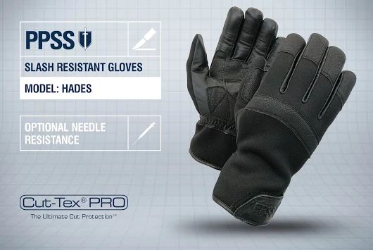 PPSS #SlashResistantGloves (Hades) with optional #needleresistance