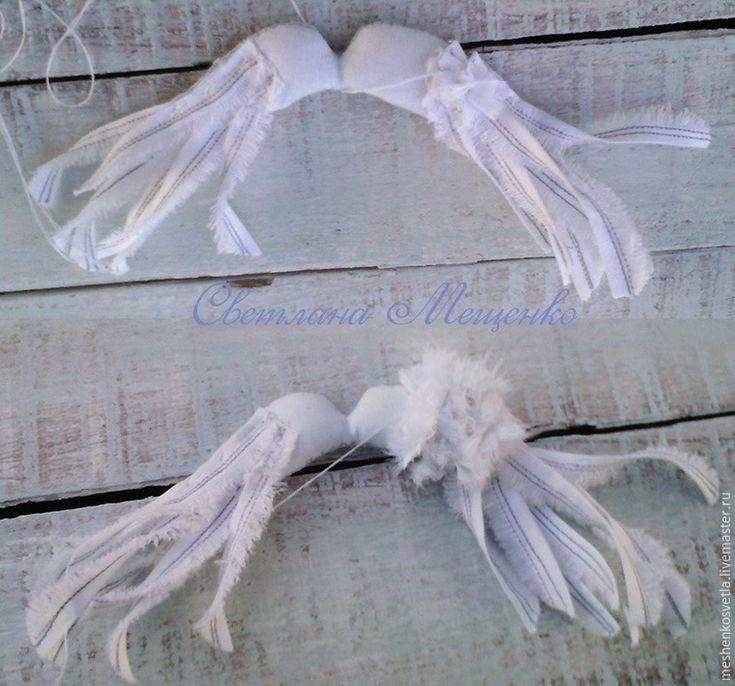 Как сделать крылья из ткани (для кукол и игрушек) - Ярмарка Мастеров - ручная работа, handmade