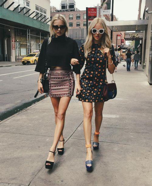 rna-gnificent:  Shea Marie (@peaceloveshea) and Caroline Vreeland (@carolinevreeland) via instagram