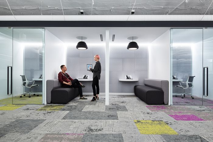 Eastlake Studio designed the offices of music streaming company Pandora, located in Chicago, Illinois.