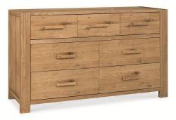 Kendal Oak 3+4 Drawer Chest  http://solidwoodfurniture.co/product-details-oak-furnitures-4081-kendal-oak-drawer-chest-.html