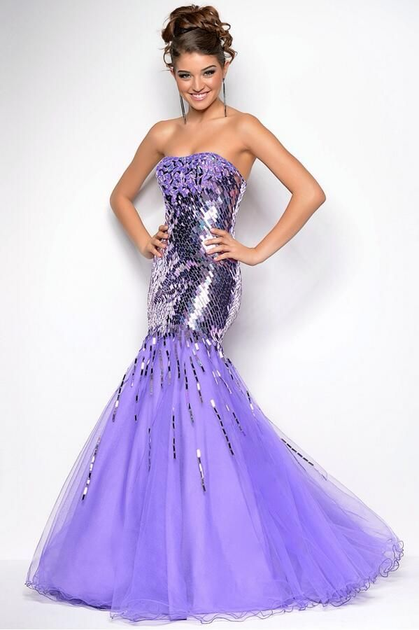 Purple Dress... One that janae and I can agree on! :)