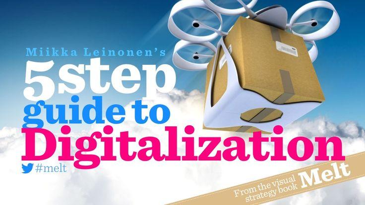 5 Step Guide to Digitalization by Miikka Leinonen via slideshare