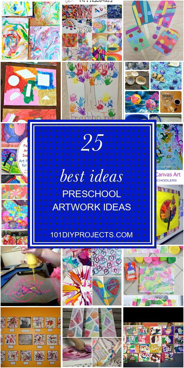 25 besten Ideen Vorschule Kunstwerk Ideen