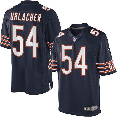 new product 99a8f 4e6d9 reebok chicago bears brian urlacher 54 authentic orange ...