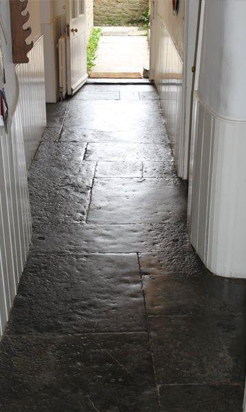 Flagstone floor: Floors Obsessed, Cottage Flooring, Flagged Flooring, Cabin…