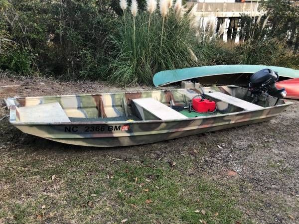 John Boat With Yamaha Outboard 2000 In 2020 John Boats Outboard Boats Boat