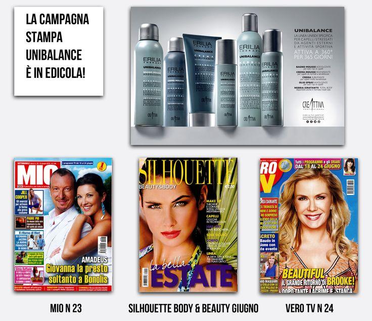 #UNIBALANCE la nuova #pubblicità in edicola sui magazine nazionale! E scopri #unibalance  nei saloni @Creattiva_Prof, @EVOS_italia e su www.creattivaprofessional.com