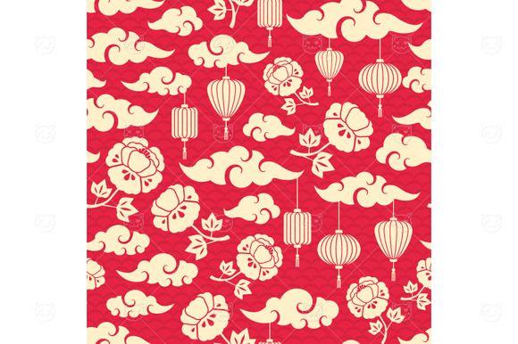 Chinese Pattern  @creativework247