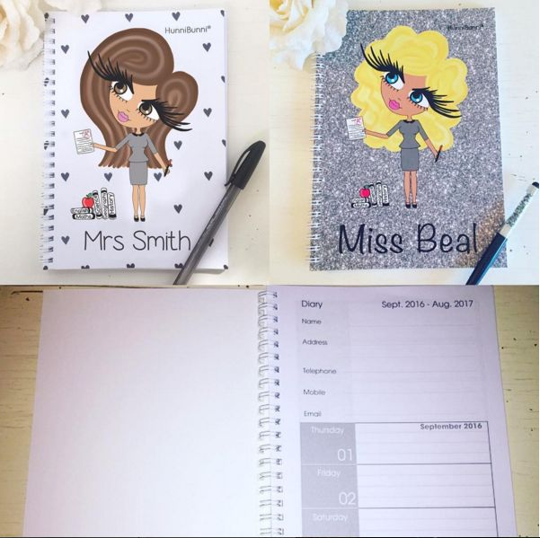 The gorgeous diaries are now available with a Sept 2016 (and Jan 2017) start date. They are perfect for those following the academic year. ❤www.hunnibunniboutique.co.uk