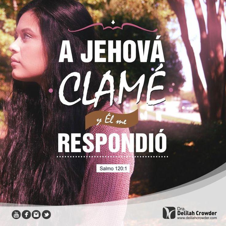 A Jehová clamé y Él Me respondió. Salmos 120:1 #girlsgathering #wintercamp