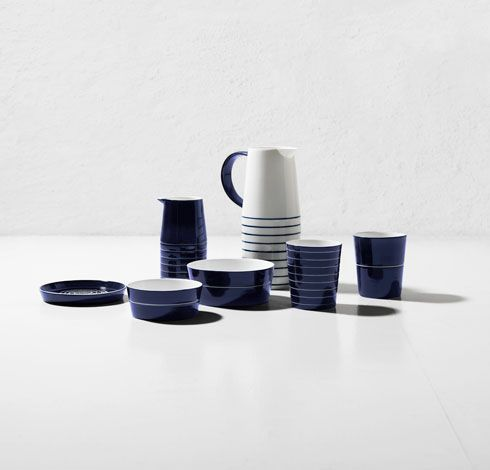 Cobalt dinnerware collection, design by Catharina Kippel.