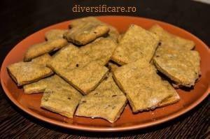 Crackers cu semințe (de la 8 luni)