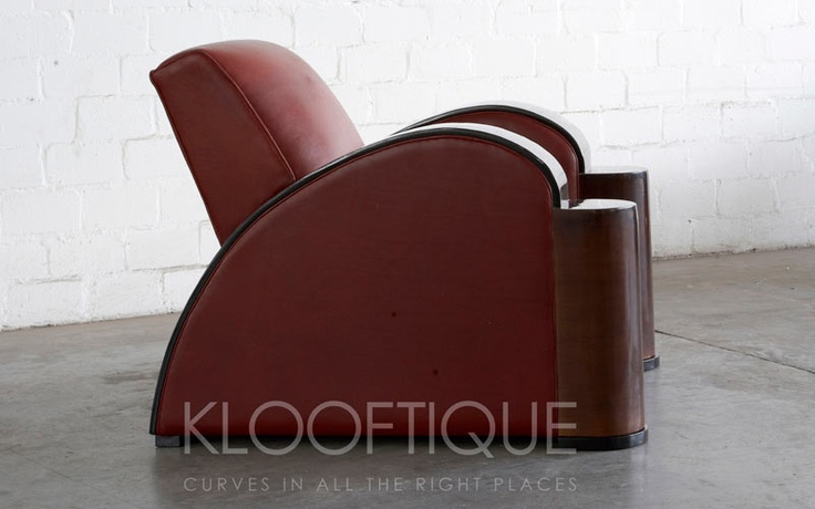 Citroen Chair - love love the art deco lines on this one.