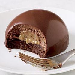 Dôme au chocolat