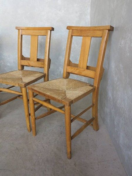 Antique Rush Seated Church Chairs with Bible Backs in 2018   Church  Furnishing   Pinterest   Chair, Antiques and Dining - Antique Rush Seated Church Chairs With Bible Backs In 2018 Church