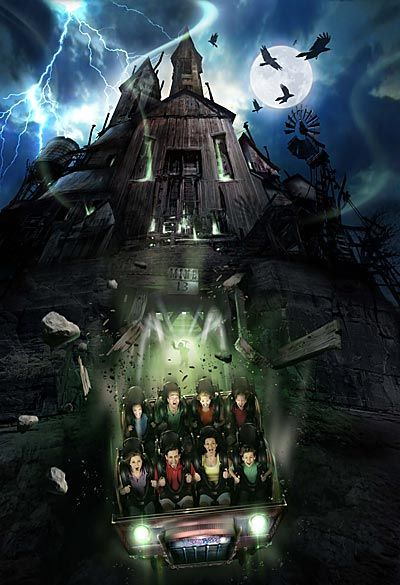 Haunted Coaster Roller Game