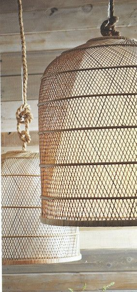 Roost Basket Cloche Lamp