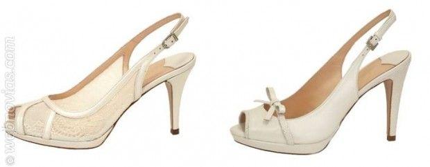 Zapatos Lodi para la novia del 2014.  www.webnovias.com