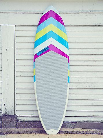 "FP Hand Painted Sup Board | This 9'6"" stand-up paddle board features one-of-a-kind artwork, hand-painted exclusively for Free People by the sibling art partnership, Pistache. Artwork in posca pen."