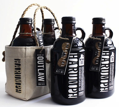 Harumph! Brewing Co. Designed by Nick Gonzalez. For the grumpy person in your life IMPDO.