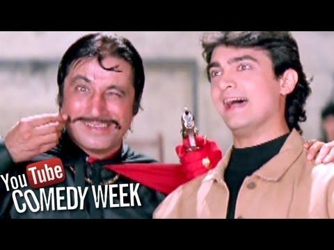 No one can watch this just once Enjoy the best comedy scene from Andaz Apna Apna on its 20th anniversary. Share the joy with friends.
