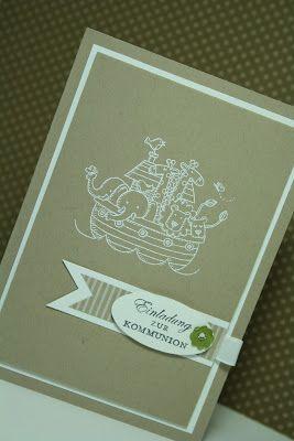 Kommunionkarte