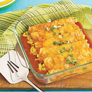 This looks really good recipe for Mexican night...maybe had some chicken, rice or black beans