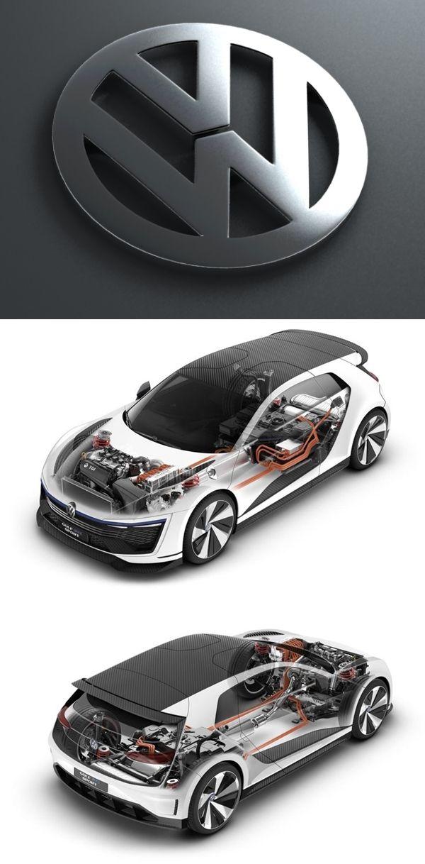 2015 VW Golf GTE Sport Concept