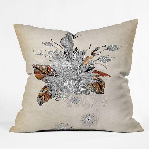 Found it at AllModern - Iveta Abolina Floral Throw Pillow